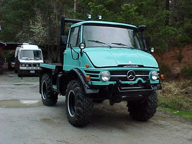 Mercedez-Benz UNIMOG historia
